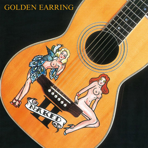 Copertina Vinile 33 giri Naked II di Golden Earring