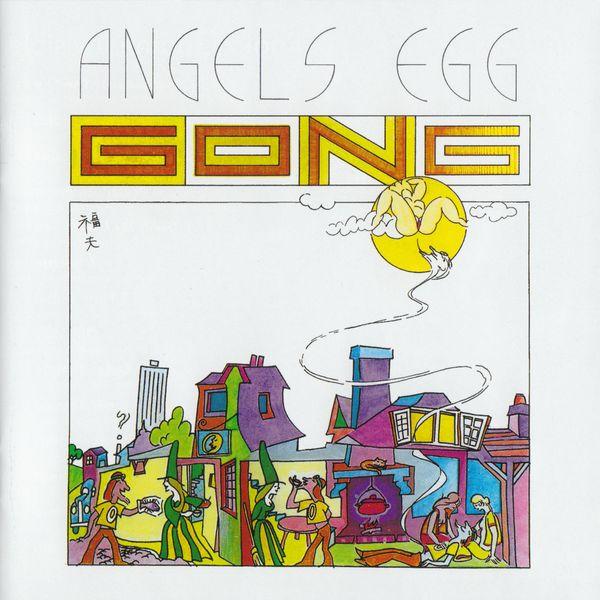 Copertina Disco Vinile 33 giri Angel's Egg di Gong