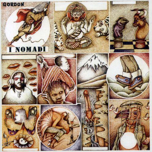 Copertina Disco Vinile 33 giri Gordon di Nomadi