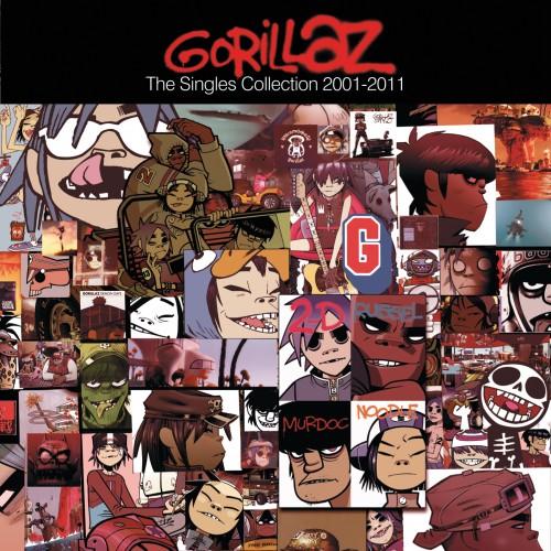 Copertina Disco Vinile 33 giri  The Singles 2001 - 2011  [2 LP] di www.gorillaz.com