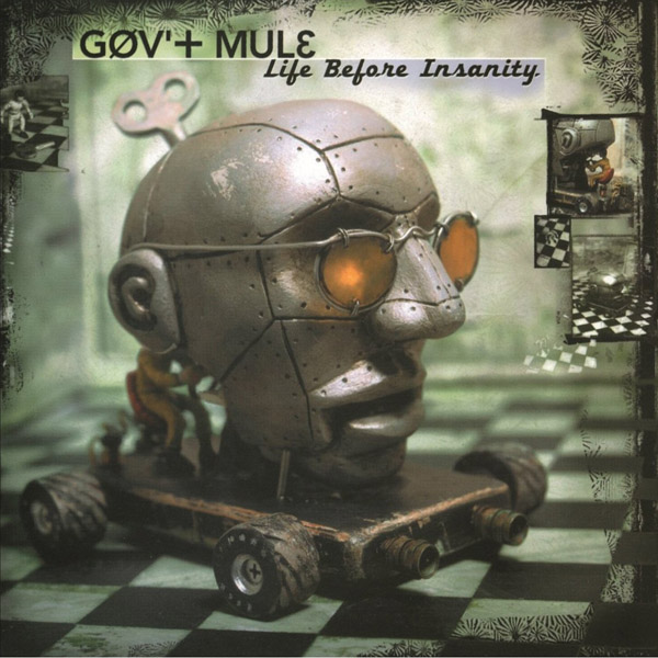 Copertina Disco Vinile 33 giri Life Before Insanity [2 LP] di Gov't Mule