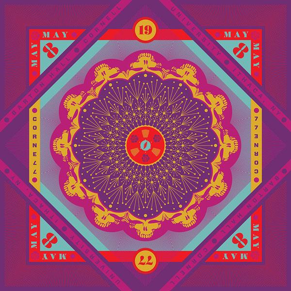 Copertina Vinile 33 giri Cornell 5/8/77 [5 LP] di Grateful Dead