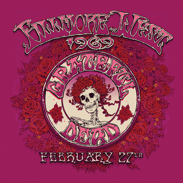 Copertina Vinile 33 giri Fillmore West, San Francisco, CA 2/27/69 [4 LP] di Grateful Dead