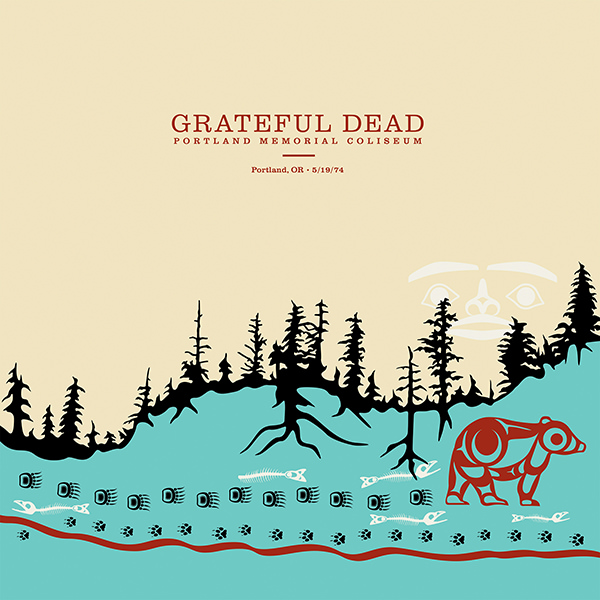 Copertina Vinile 33 giri Portland Memorial Coliseum  [6 LP] di Grateful Dead