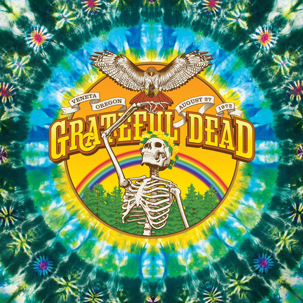 Copertina Disco Vinile 33 giri Sunshine Daydream [4 LP] di Grateful Dead