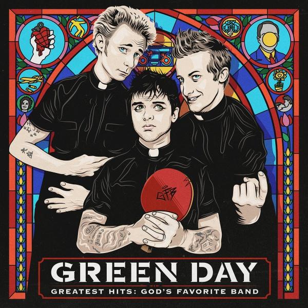 Copertina Vinile 33 giri Greatest Hits: God's Favorite Band [2 LP] di Green Day