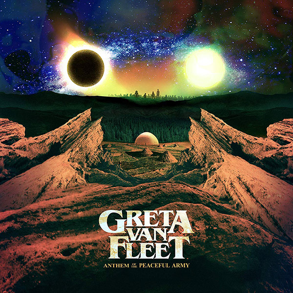 Copertina Vinile 33 giri Anthem Of The Peaceful Army di Greta Van Fleet