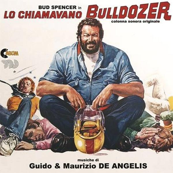 Copertina Vinile 33 giri Lo Chiamavano Bulldozer [Soundtrack LP] di Guido e Maurizio De Angelis