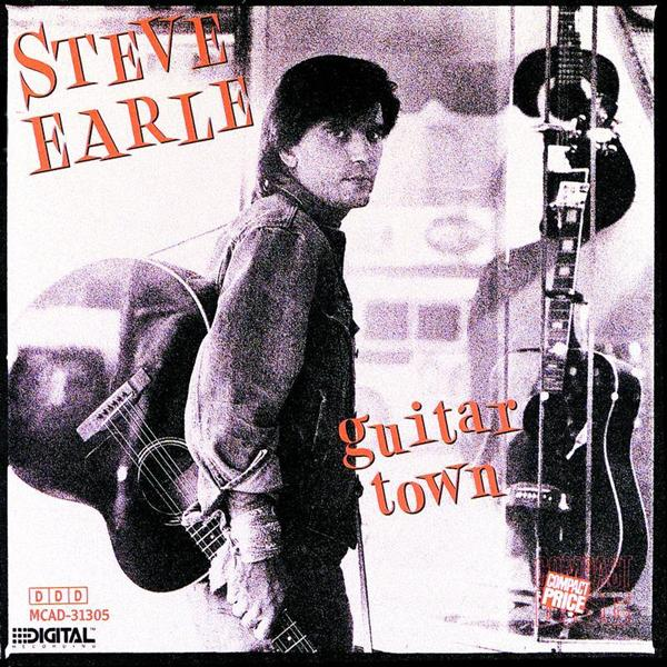 Copertina Disco Vinile 33 giri Guitar Town di Steve Earle