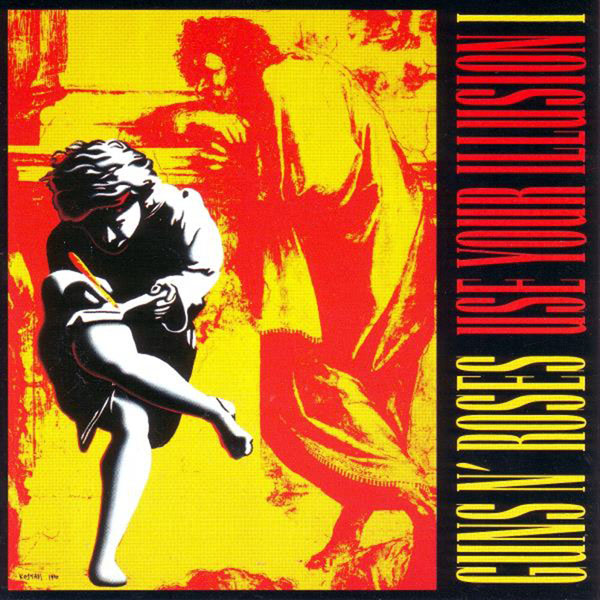 Copertina Disco Vinile 33 giri Use Your Illusion I [2 LP] di Guns'N'Roses
