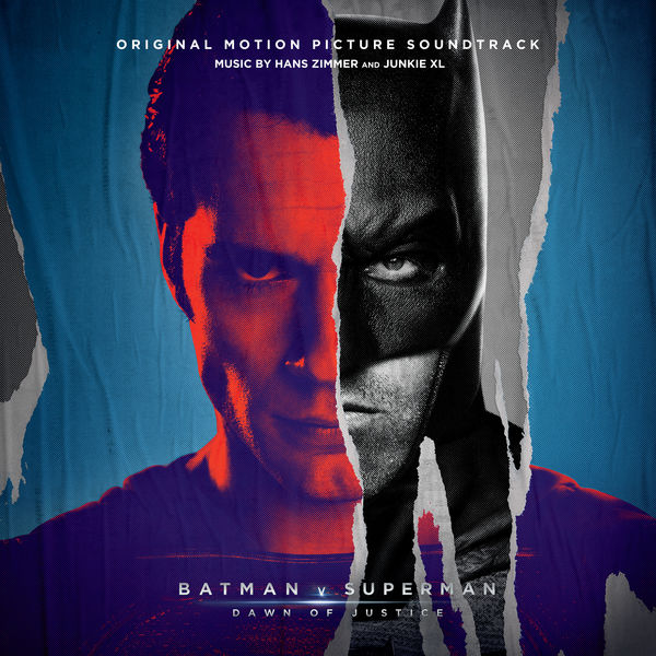 Copertina Disco Vinile 33 giri Batman v Superman: Dawn of Justice  di Hans Zimmer