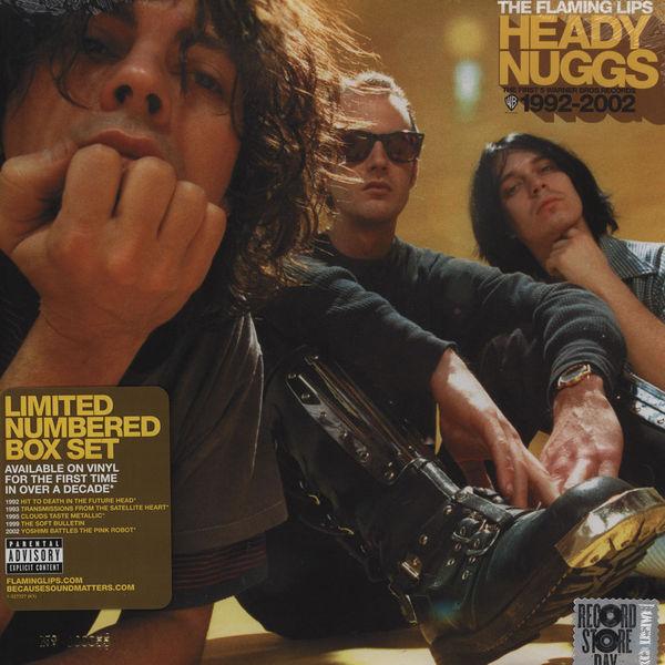 Copertina Disco Vinile 33 giri Heady Nuggs 1992-2002 [Cofanetto 6xLP] di The Flaming Lips