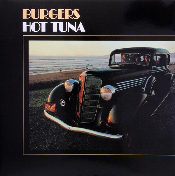 Copertina Disco Vinile 33 giri Burgers di Hot Tuna