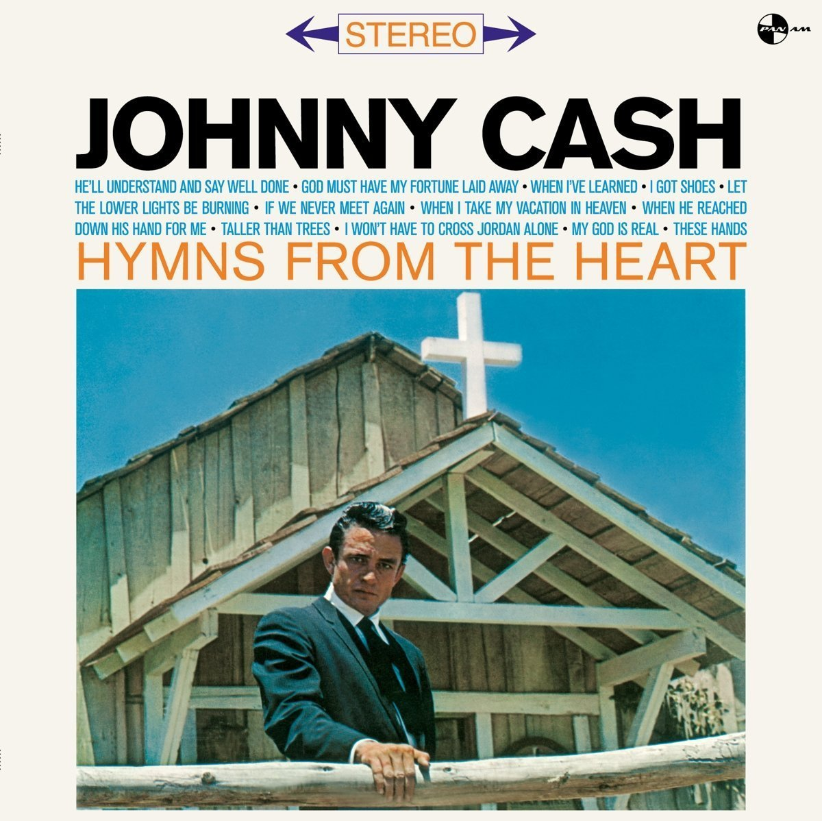 Copertina Disco Vinile 33 giri Hymns from the Heart di Johnny Cash