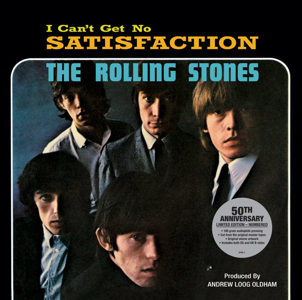 Copertina Disco Vinile 33 giri (I Can't Get No) Satisfaction  di The Rolling Stones