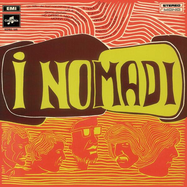 Copertina Disco Vinile 33 giri I Nomadi di I Nomadi