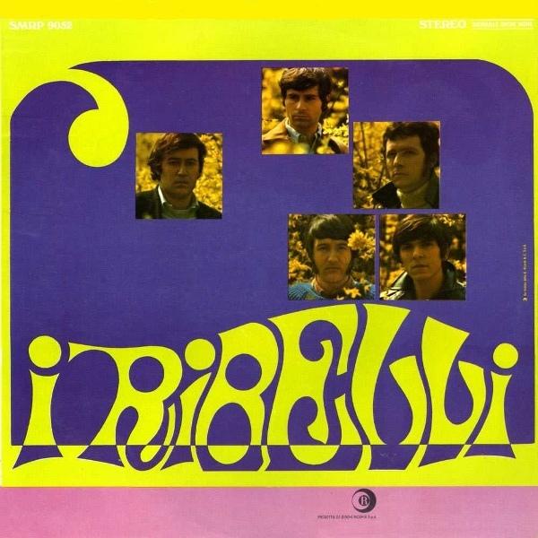 Copertina Disco Vinile 33 giri I Ribelli di I Ribelli
