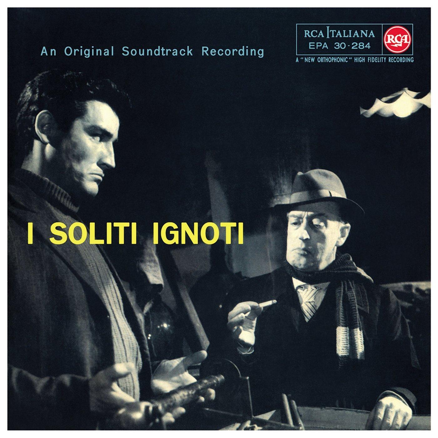 Copertina Disco Vinile 33 giri I Soliti Ignoti [Soundtrack LP] di Piero Umiliani