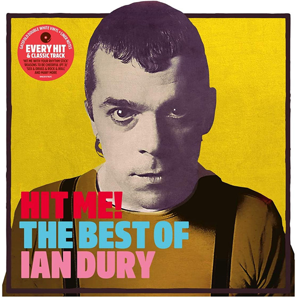Copertina Vinile 33 giri Hit Me! - The Best Of  [2 LP] di Ian Dury