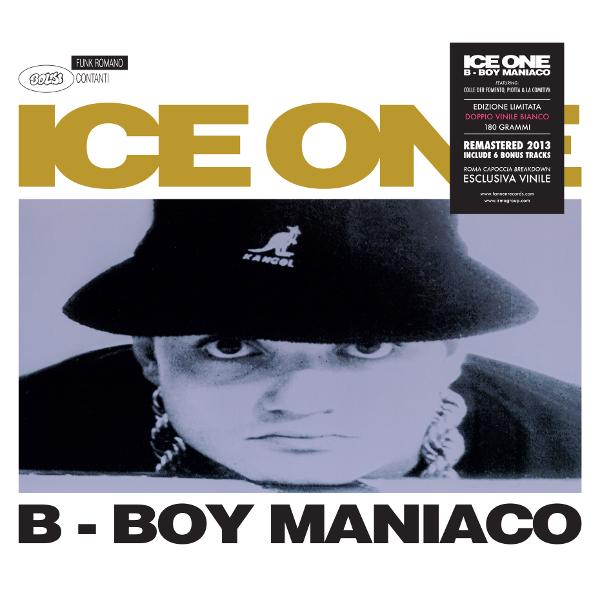 Copertina Disco Vinile 33 giri B-Boy Maniaco [2 LP] di Ice One