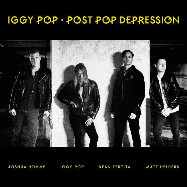 Copertina Disco Vinile 33 giri Post Pop Depression di Iggy Pop