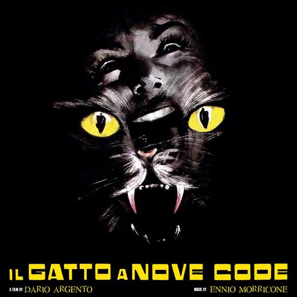 Copertina Disco Vinile 33 giri Il gatto a nove code [Soundtrack LP] di Ennio Morricone