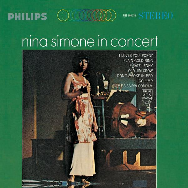 Copertina Disco Vinile 33 giri In Concert di Nina Simone