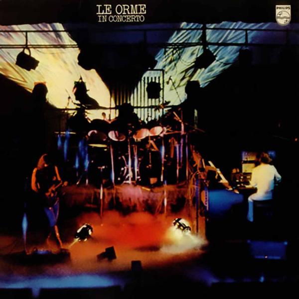 Copertina Disco Vinile 33 giri In Concerto di Le Orme