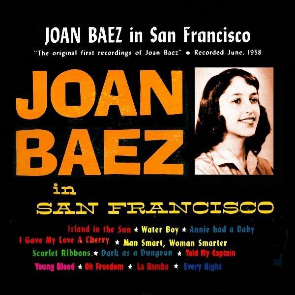 Copertina Disco Vinile 33 giri In San Francisco di Joan Baez