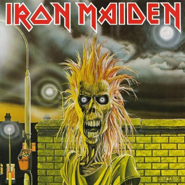 Copertina Disco Vinile 33 giri Iron Maiden  di Iron Maiden
