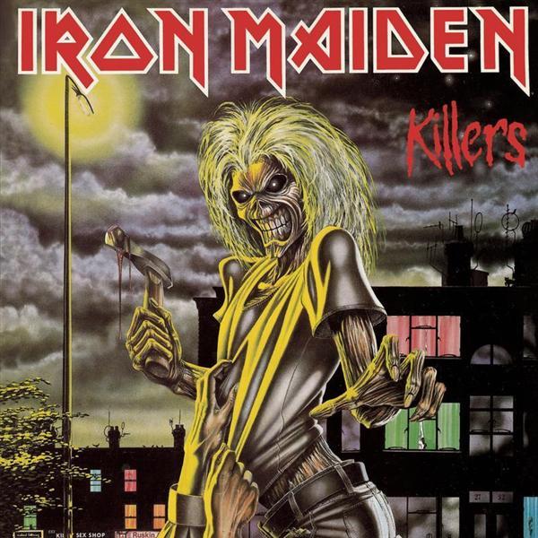 Copertina Disco Vinile 33 giri Killers  di Iron Maiden