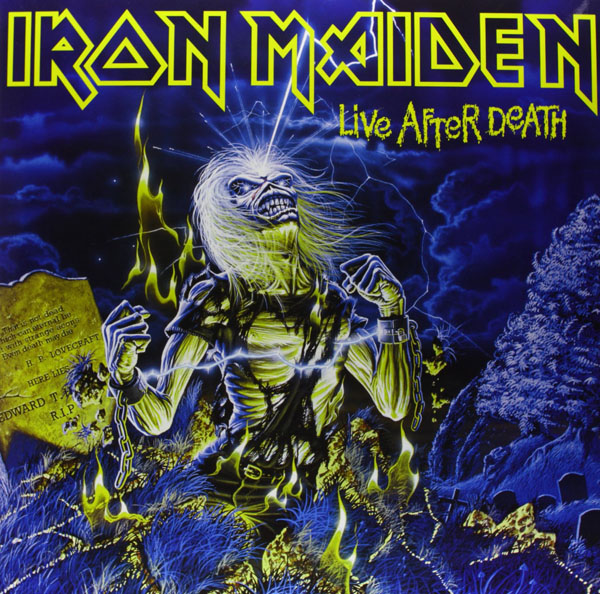 Copertina Disco Vinile 33 giri Live After Death [2 LP] di Iron Maiden