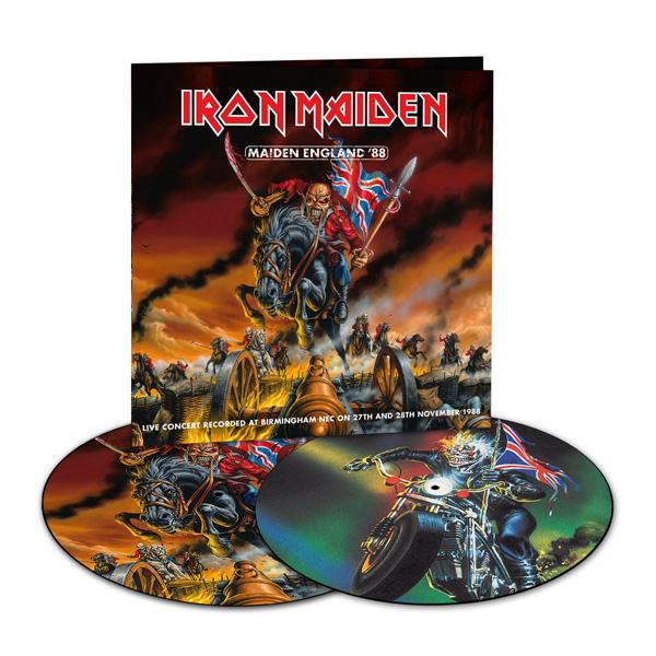 Copertina Disco Vinile 33 giri Maiden England '88 [2LP Picture Disc] di Iron Maiden