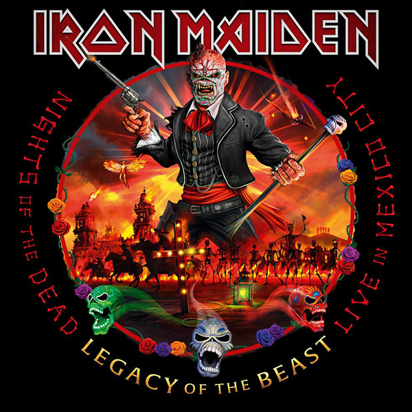 Copertina Vinile 33 giri Nights Of The Dead [3 LP] di Iron Maiden