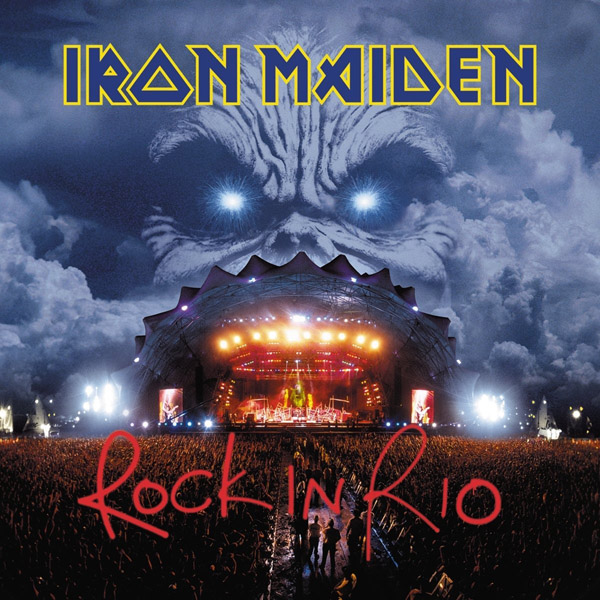 Copertina Vinile 33 giri Rock in Rio [3 LP] di Iron Maiden