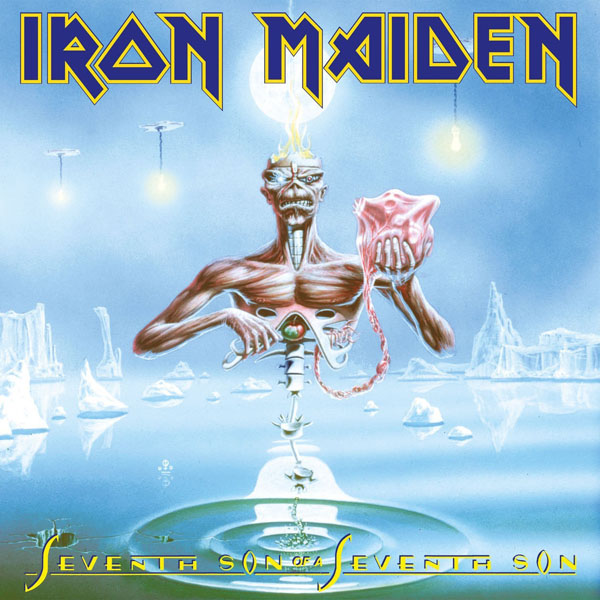 Copertina Disco Vinile 33 giri Seventh Son of a Seventh Son  di Iron Maiden