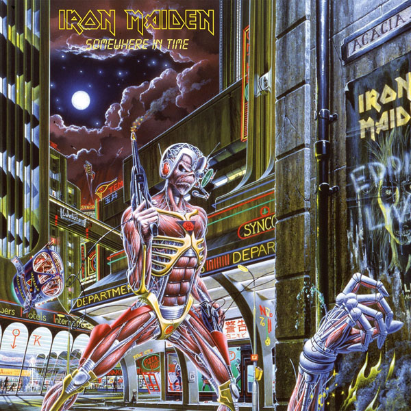 Copertina Disco Vinile 33 giri Somewhere in Time di Iron Maiden
