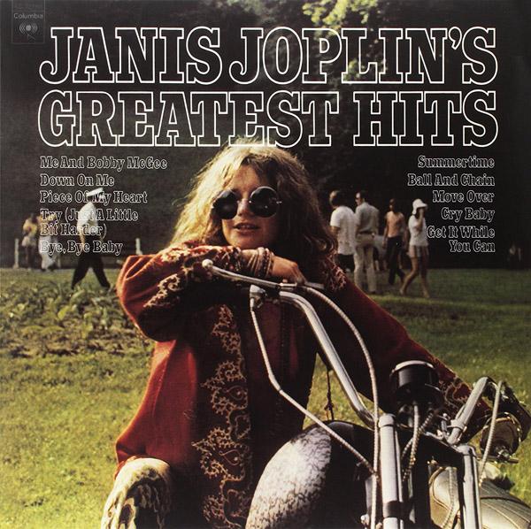 Copertina Vinile 33 giri Janis Joplin's Greatest Hits di Janis Joplin