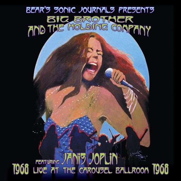 Copertina Disco Vinile 33 giri Live at the Carousel Ballroom 1968 [2 LP] di Janis Joplin (Big Brother and the Holding Company)