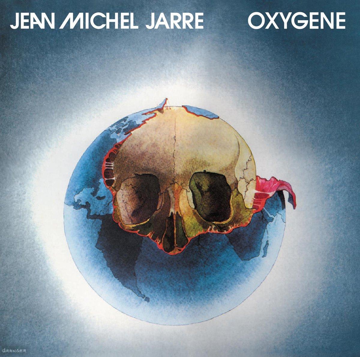 Copertina Disco Vinile 33 giri Oxygene di Jean Michel Jarre