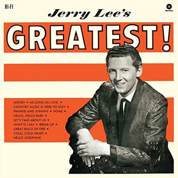 Copertina Disco Vinile 33 giri Jerry Lee's Greatest di Jerry Lee Lewis