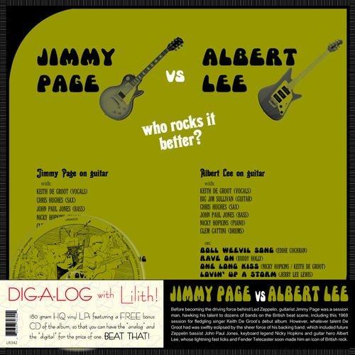 Copertina Disco Vinile 33 giri Jimmy Page vs. Albert Lee [LP+CD] di Jimmy Page