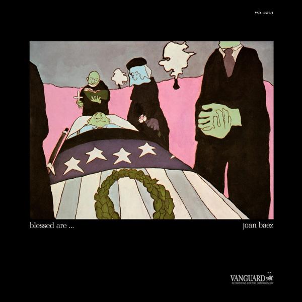 Copertina Disco Vinile 33 giri Blessed Are [2 LP] di Joan Baez