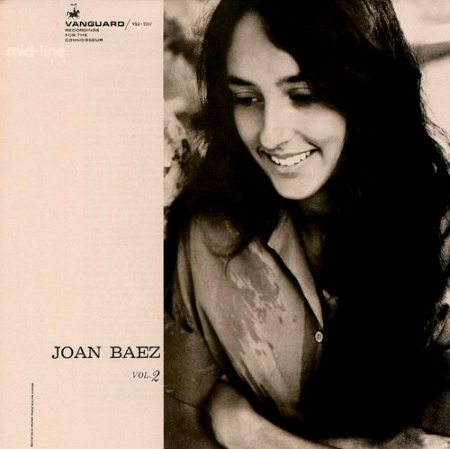 Copertina Disco Vinile 33 giri Joan Baez Vol. 2 di Joan Baez