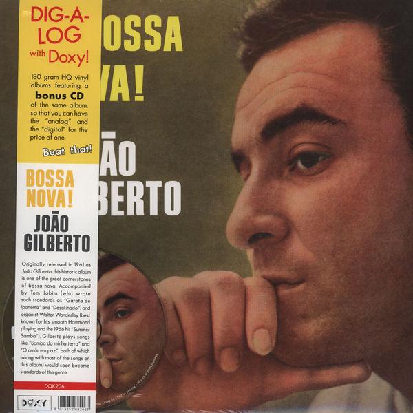 Copertina Disco Vinile 33 giri Bossa Nova! di Joao Gilberto