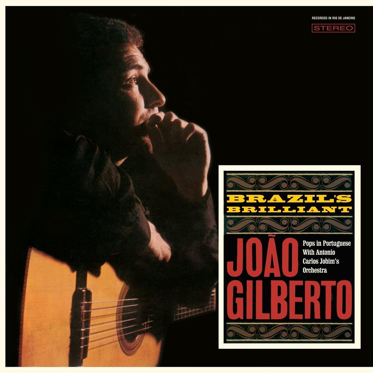 Copertina Disco Vinile 33 giri Brazil's Brilliant di Joao Gilberto