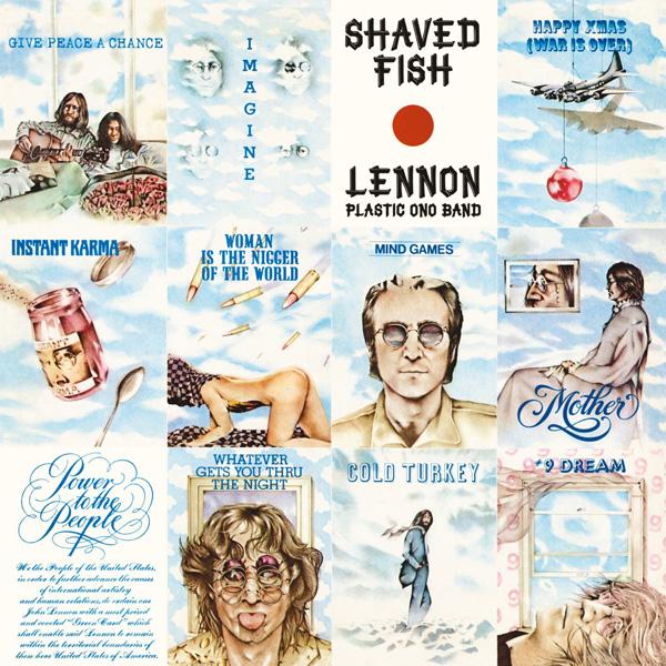 Copertina Disco Vinile 33 giri Shaved Fish di John Lennon