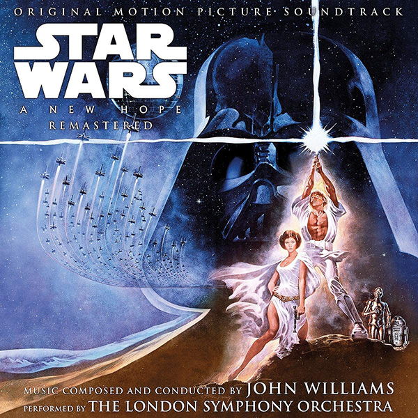 Copertina Vinile 33 giri Star Wars: A New Hope [Soundtrack 2xLP] di John Williams
