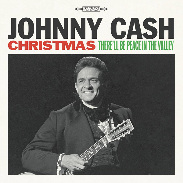Copertina Disco Vinile 33 giri Christmas: There'll be Peace in the Valley di Johnny Cash