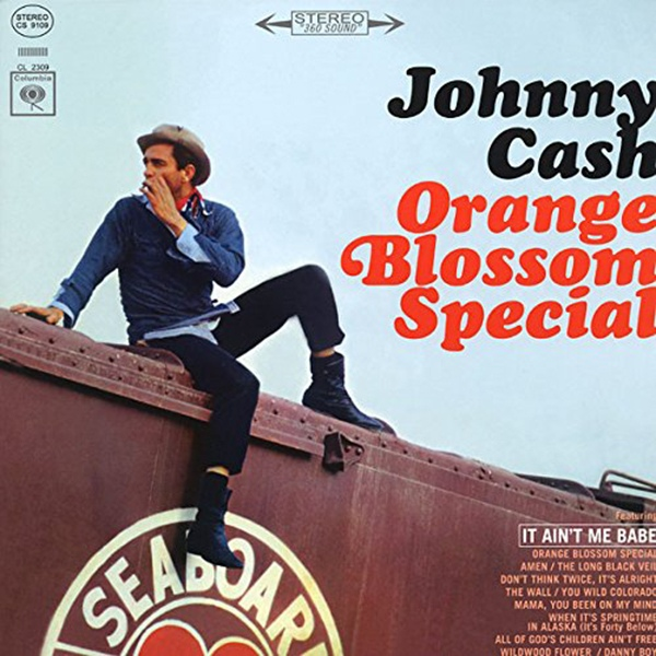 Copertina Disco Vinile 33 giri Orange Blossom Special di Johnny Cash